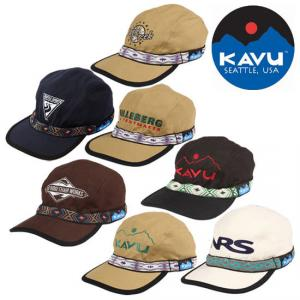 KAVU(カブー)の「エンブロイダリー ストラップキャップ」が…65%オフ!