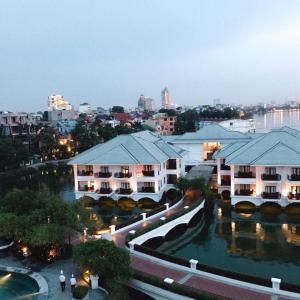 2019年8月ハノイ④夜景~InterContinental Hanoi Westlake