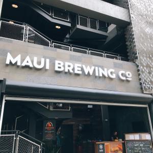 2019年11月ハワイ⑤MAUI BREWING Co
