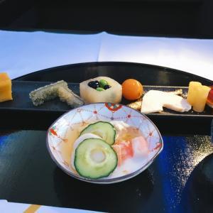 2019年11月ハワイ㉕HNL-NRT ANA Fクラス機内食