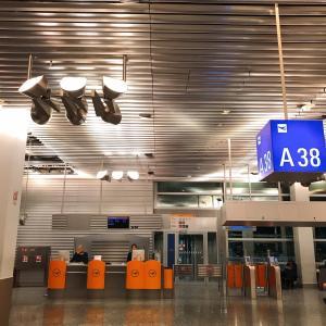 2020年2月バルセロナ③FRA-BCN ルフトハンザ航空Yクラス