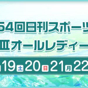 G3 日刊スポーツ杯 オールレディース 4日目の買い目予想【ボートレース桐生6/21】