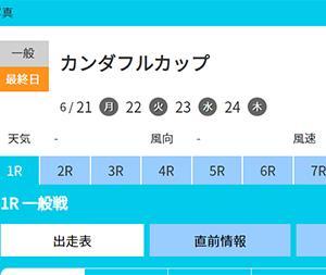 一般 カンダフルカップ 最終日の買い目予想【ボートレース戸田6/24】