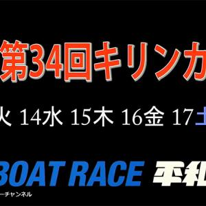 G3 第34回キリンカップ 2日目の買い目予想【ボートレース平和島7/14】