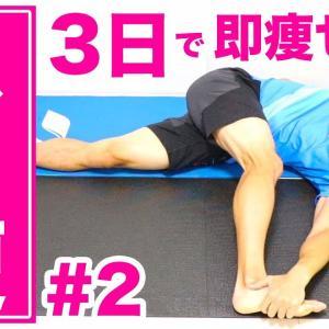 3日で痩せる!30日ダイエットストレッチチャレンジ!#2【スト痩】