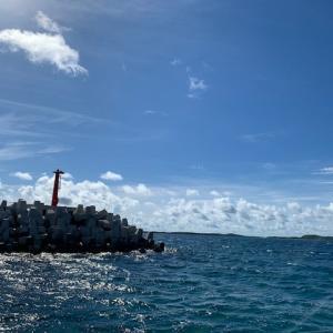 今日の宮古島の天気&八重干瀬の海況とツアー開催状況 2020年7月6日(月)
