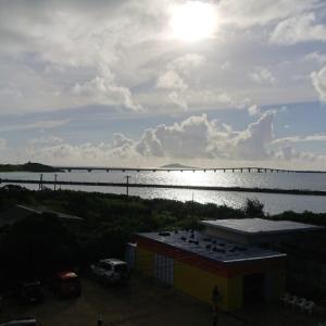 今日の宮古島の天気&八重干瀬の海況とツアー開催状況 2020年9月18日(金)