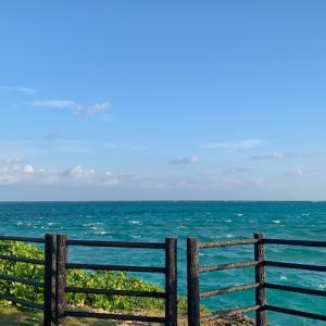 今日の宮古島の天気&八重干瀬の海況とツアー開催状況 2020年10月19日(月)