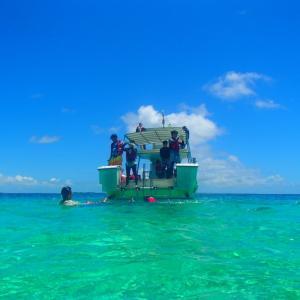 今日の宮古島の天気&八重干瀬の海況とツアー開催状況 2021年8月27日(金)
