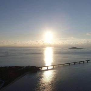 今日の宮古島の天気&八重干瀬の海況とツアー開催状況 2021年9月3日(金)