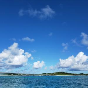 今日の宮古島の天気&八重干瀬の海況とツアー開催状況 2021年9月6日(月)