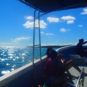 今日の宮古島の天気&八重干瀬の海況とツアー開催状況 2021年9月9日(木)