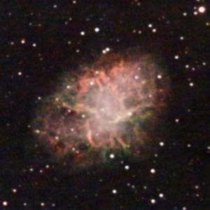 M1(かに星雲)を4つの鏡筒で撮ってみる。SIGHTRON QBPフィルター使用。