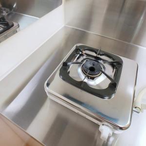 重曹でガスコンロの頑固な油汚れと焦げ付きをピカピカにする方法