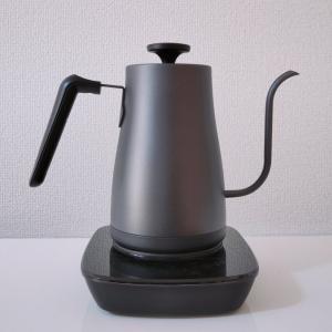 【YAMAZEN電気ケトルYKG-C800】1℃単位で温度設定できるコーヒーとお茶好きのためのケトル