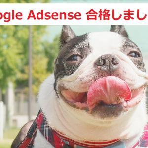Google Adsenseに合格しました~\(^o^)/