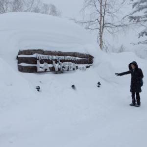 旭岳温泉とスキー♪