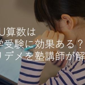 RISU算数は中学受験にも効果ある?メリット・デメリットを塾講師が解説!