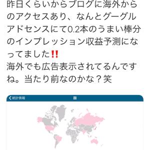 Googleアドセンスの凄さ。外国でも広告表示??