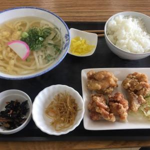 お昼ご飯ー