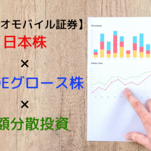 SBIネオモバイル証券で日本株の高ROEグロース株に少額分散投資!!