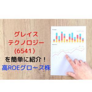 【6541】グレイステクノロジー ROE30%超えのマニュアル制作専門会社