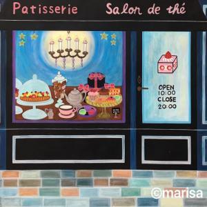 パリのケーキ屋さん、イラスト