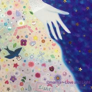 「創造主〜大愛へ〜」の絵の続きとコロナワクチンについて。