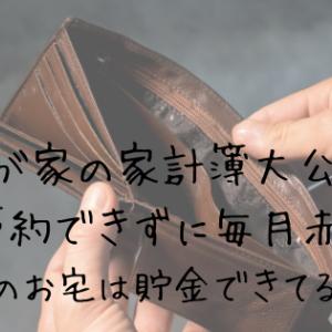 赤字続きの家計簿公開!実家暮らし家族5人 2019年9月~10月編
