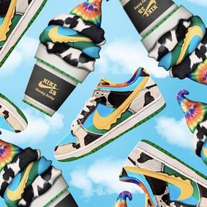 5月23日(土)発売 Ben & Jerry's × Nike SB Dunk Low Pro QS Chunky Dunky