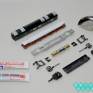 ◆鉄道模型「トワイライトエクスプレス 瑞風」の動力車を分解メンテナンス