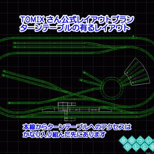 ◆鉄道模型、ターンテーブル(転車台)の有るレイアウトについて考える