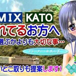 ◆鉄道模型、TOMIX KATO どっちを選ぶかよりも大切な事…の動画を投稿しました!