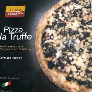 トリュフのピザ