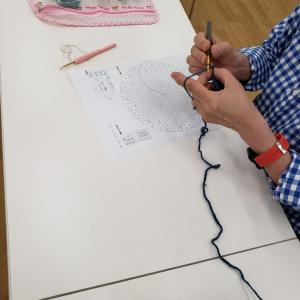 編み糸を使いきること