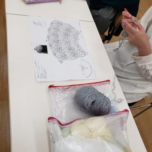 編みはじめの1段目