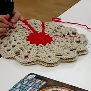 あれ?っと思ったら、編み図を検証