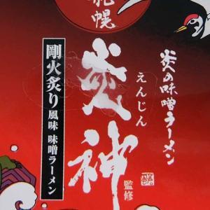 サンヨー食品 炎の味噌ラーメン 札幌 炎神 実食