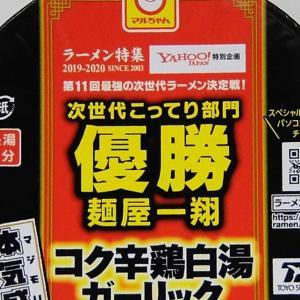 東洋水産 次世代こってりコク辛鶏白湯ガーリックチーズカレー 実食