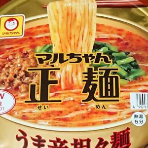 マルちゃん正麺 うま辛坦々麺(NEW麺増量10g)実食