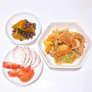 *10/19  鶏肉と野菜の中華風炒めもの*
