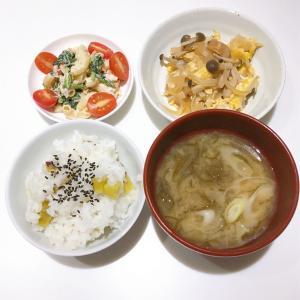 *11/21  焼麩と野菜の卵とじ*