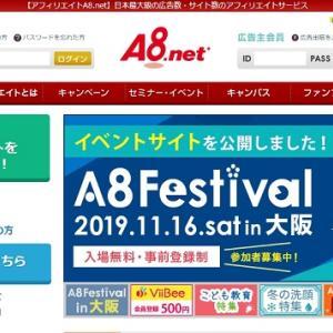 A8ネットは最初に登録するべき日本を代表するASP その登録方法を解説
