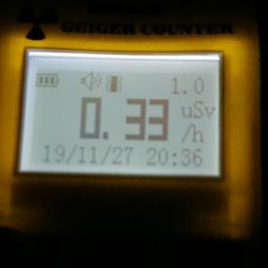 緊急放射線測定