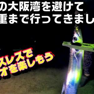 人混みの大阪湾を避けて三重でタチウオやってみた