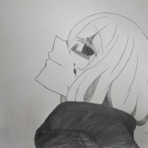 『真下を見てる人』