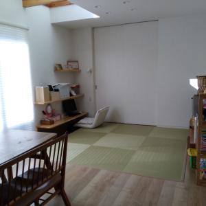 家のリビングは、畳です