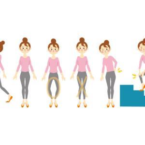 ひざ関節にかかる負担は体重の○倍!負担を減らす方法とは?