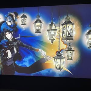 「黒執事展 -Rich Black-」東京会場での展示の様子