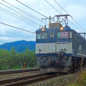 10/24 単機回送のロクヨンは1049号機
